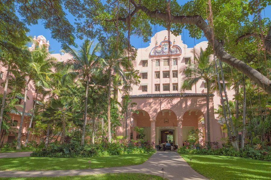 Royal Hawaiian Hotel.