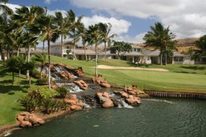"""Golf Course - ko olina2"" by Phil Sexton is licensed under CC BY"