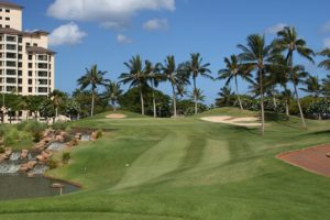 """Golf Course - ko olina"" by Phil Sexton is licensed under CC BY"