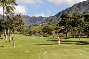 """Makaha Resort Golf Club"" by InSapphoWeTrust is licensed under CC BY-SA"